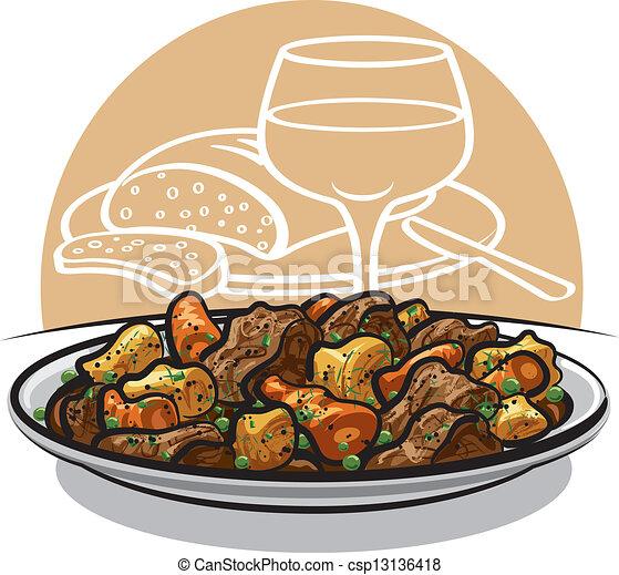 beef stew - csp13136418