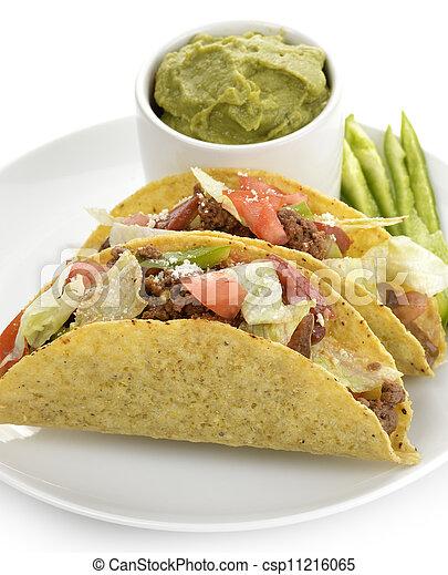 Beef Tacos  - csp11216065