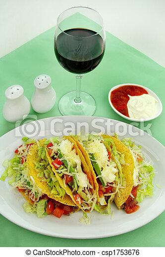 Beef Tacos - csp1753676