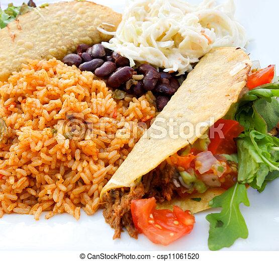 beef tacos - csp11061520