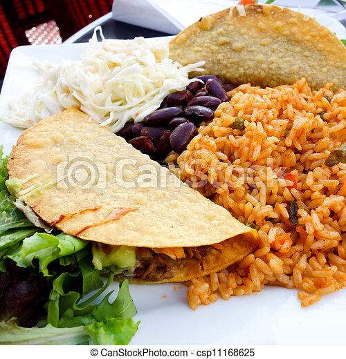 beef tacos - csp11168625