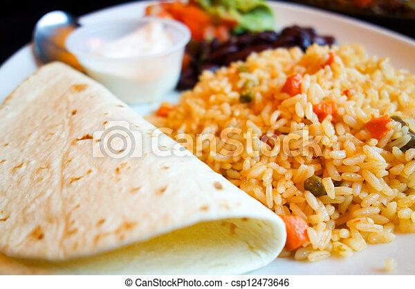 beef tacos - csp12473646