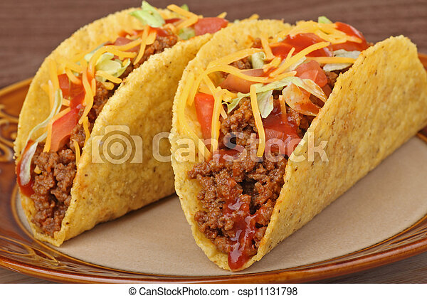 Beef Tacos - csp11131798