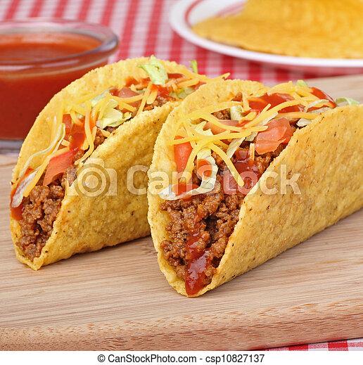 Beef Tacos - csp10827137