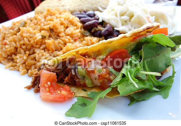 beef tacos - csp11061535