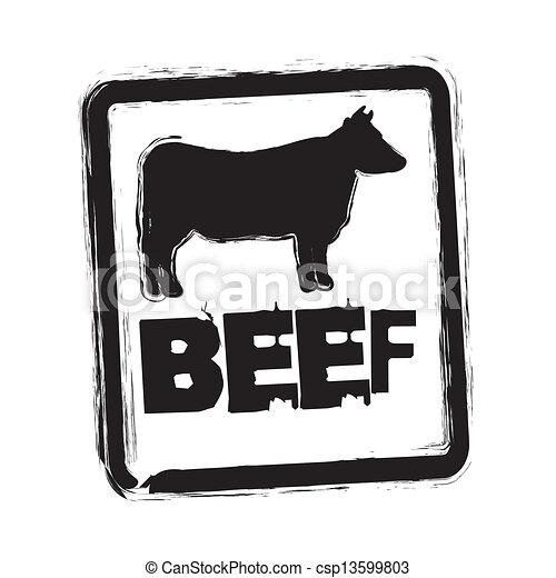 beef vector - csp13599803