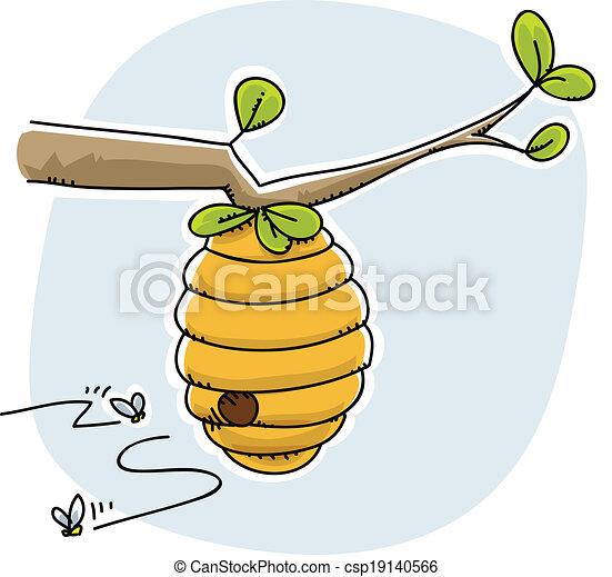 Beehive - csp19140566