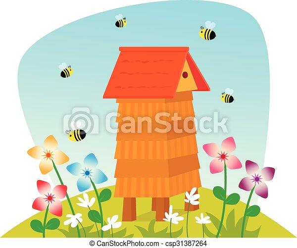 Beehive - csp31387264