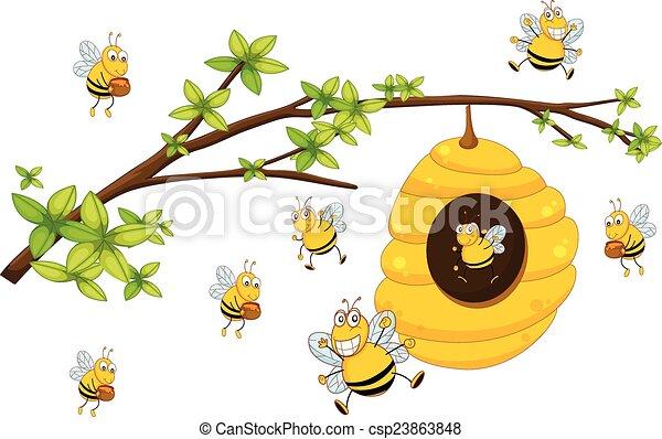 Beehive - csp23863848