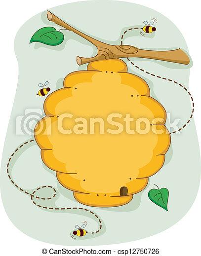 Beehive - csp12750726