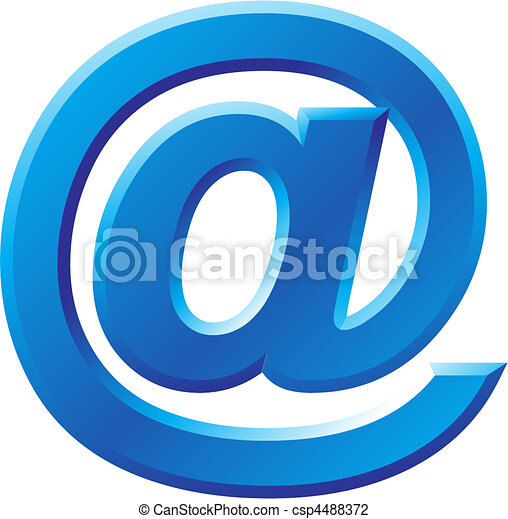 @, beeld, symbool, internet - csp4488372