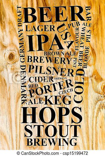 Beer Ad - csp15199472