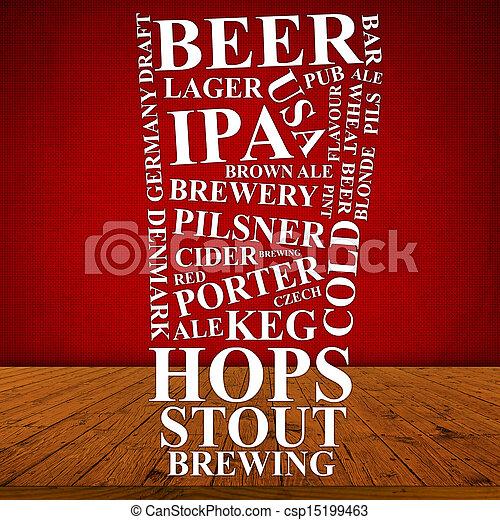 Beer Ad - csp15199463