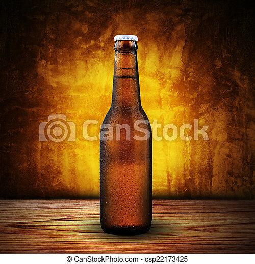Beer Bottle - csp22173425