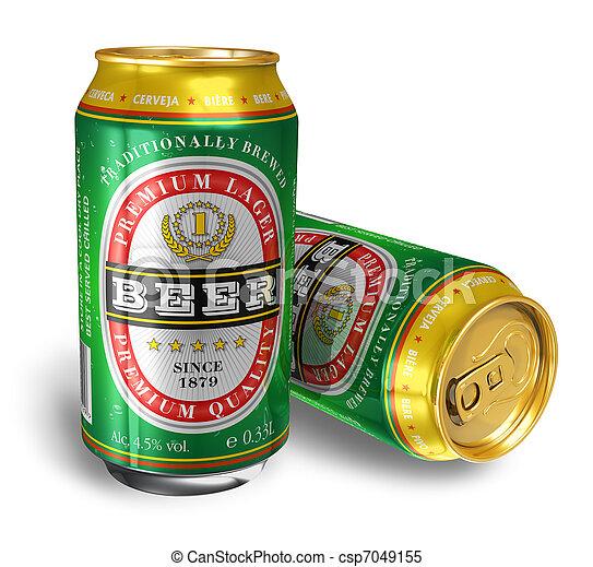 Beer cans - csp7049155