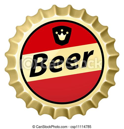 Beer cap - csp11114785