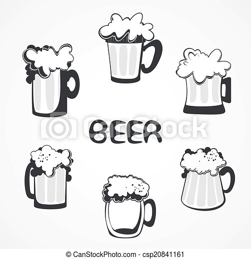 beer collection - csp20841161