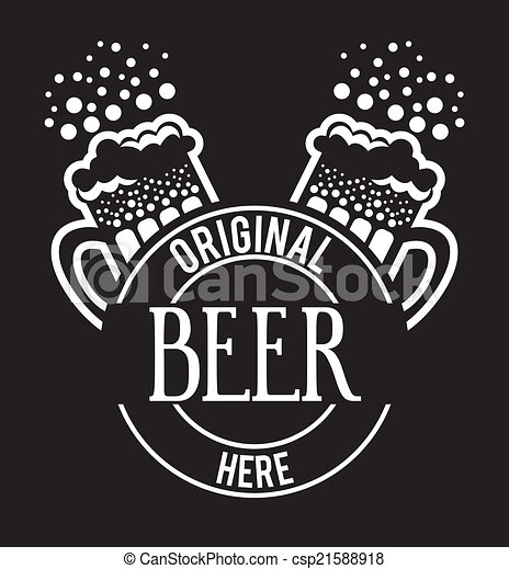 beer design - csp21588918