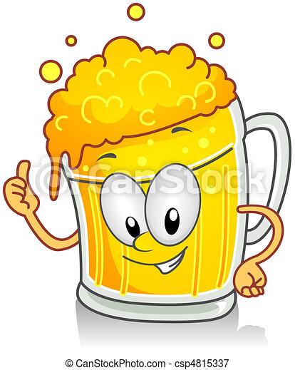 Beer Gesture - csp4815337
