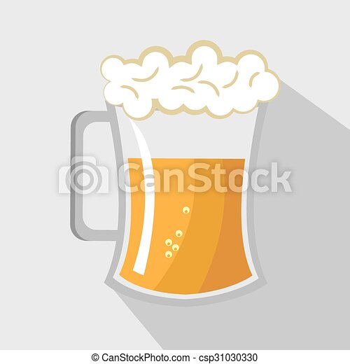 beer glass - csp31030330