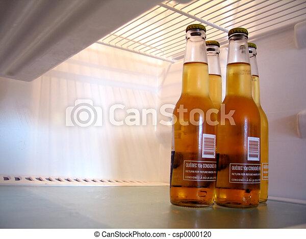 Beer in Fridge - csp0000120