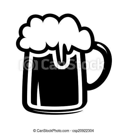 beer mug icon - csp20922304