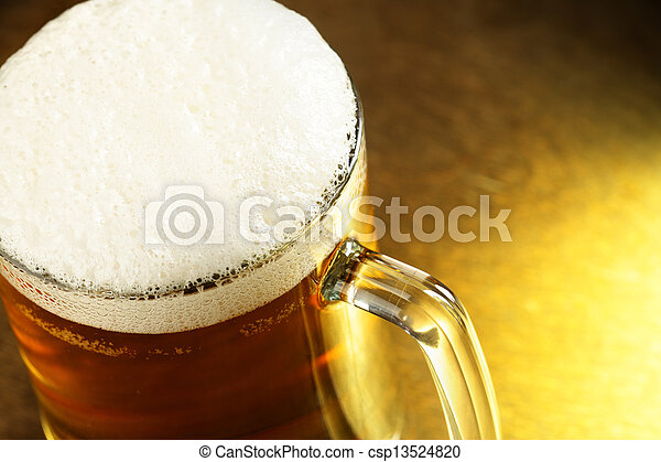 Beer mug - csp13524820