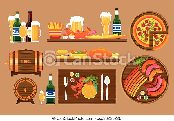 Beer set 1 - csp36225226