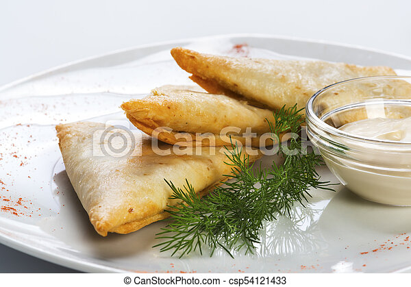 Beer snack - dough with cheese - csp54121433