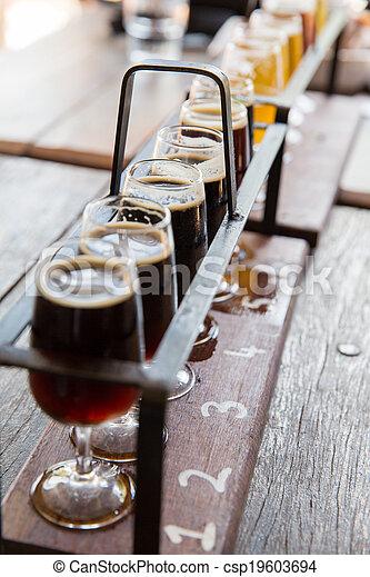 Beer tasting - csp19603694