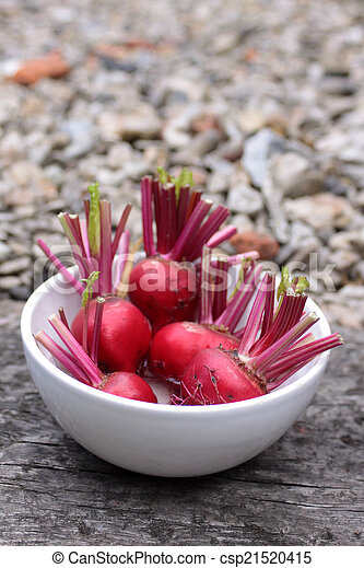 Beets in a Bowl - csp21520415