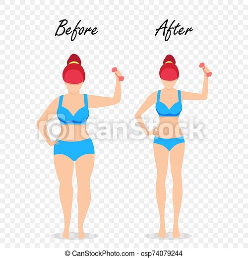 Before after girl
