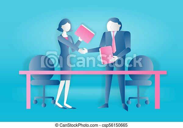 begreb, arbejde, folk, hold - csp56150665