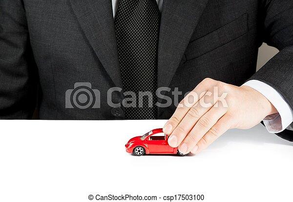 begreb, reparer, stykke legetøj, tjeneste, firma, automobilen, omkostninger, lej, købe, brændsel, forsikring, hånd, mand, eller - csp17503100