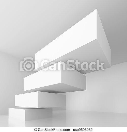 begrebsmæssig, konstruktion, arkitektur - csp9608982