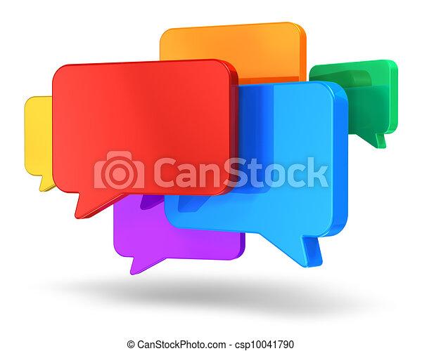 begrepp, nätverksarbetande, pratstund, social - csp10041790