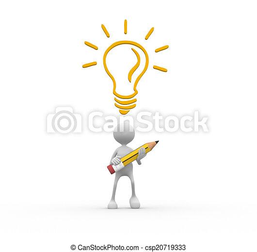 begriff, idee - csp20719333