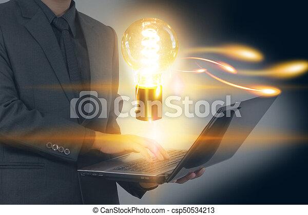 begriff, kreativ, geschäftsstrategie - csp50534213