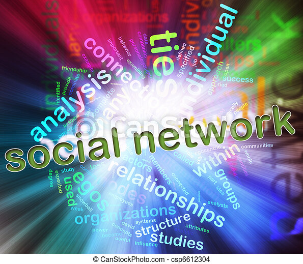 begriff, vernetzung, sozial - csp6612304