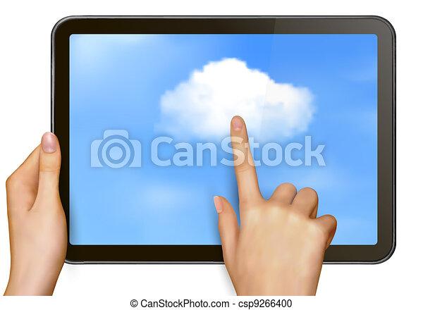 begriff, wolke, rechnen - csp9266400