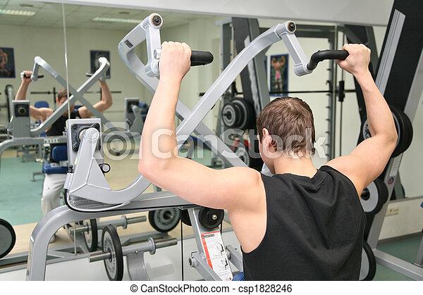 behind gym man 2 - csp1828246