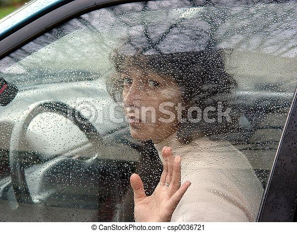Behind the wheel - csp0036721