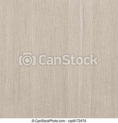 Beige crumpled paper texture, natural textured background - csp9172474