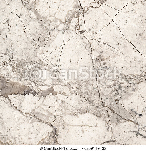 Beige marble texture background - csp9119432