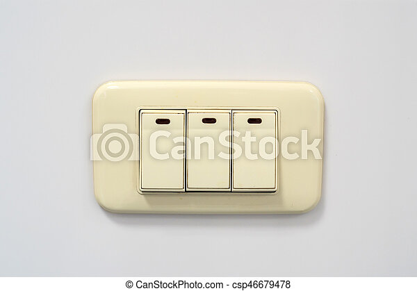 Beige rocker light switch with three buttons electrical beige beige rocker light switch with three buttons csp46679478 publicscrutiny Images