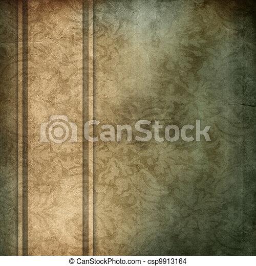 beige, ruban, bleu, espace, fond, disposition, brun, copie, conception, élégant - csp9913164