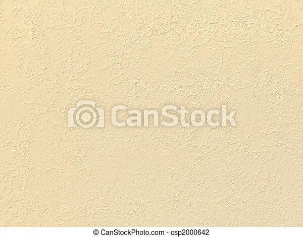 Beige Stucco Texture - csp2000642