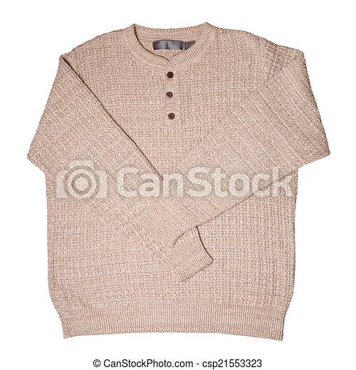Beige sweater - csp21553323