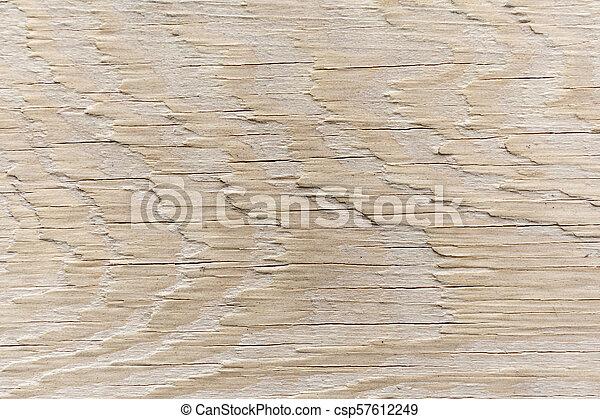 Beige wooden texture. Wood nature background. - csp57612249