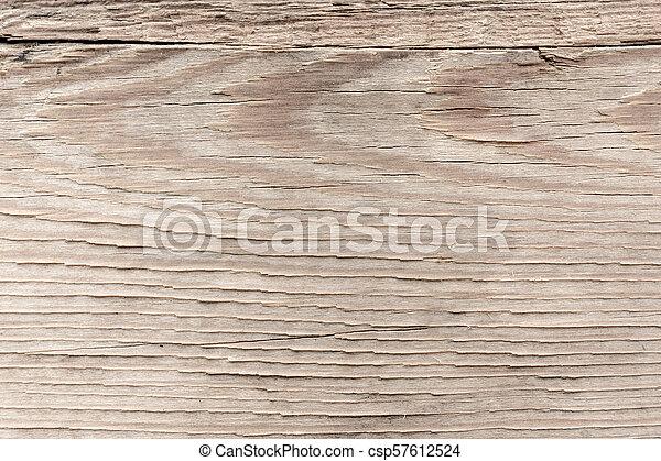Beige wooden texture. Wood nature background. - csp57612524